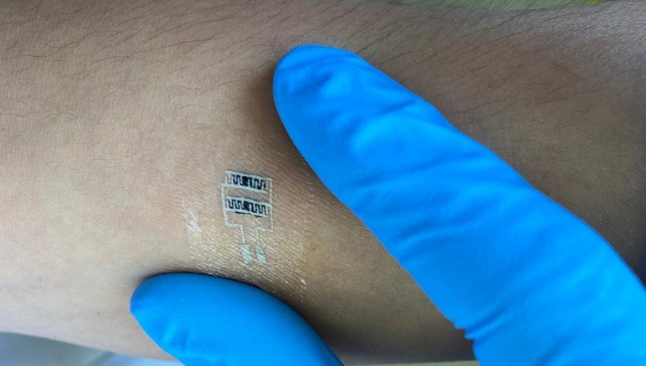 Наклейка на кожу как инструмент диагностики туберкулеза