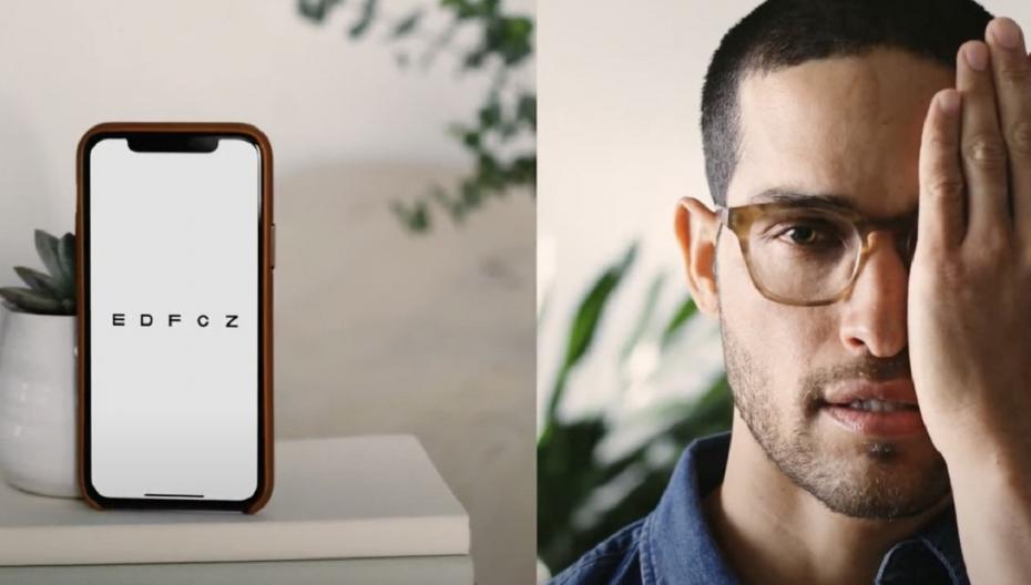 Цифровая проверка зрения позволяет пользователям удаленно обновлять рецепты на очки и контактные линзы