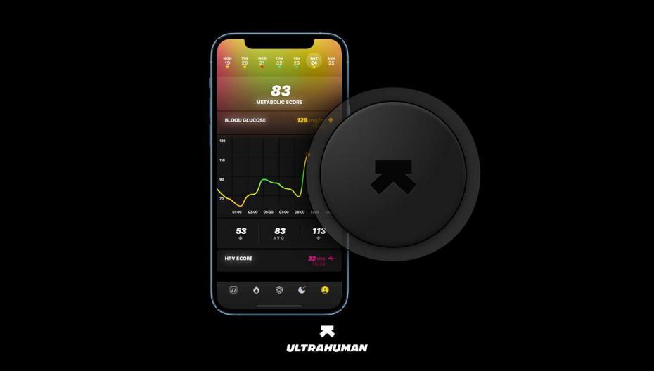 Ultrahuman Cyborg: трекер метаболизма для оптимизации спорта и питания