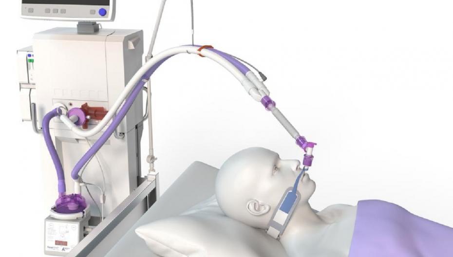 Armstrong Medical разработала систему для аппаратов искусственной вентиляции легких, улучшающую терапию