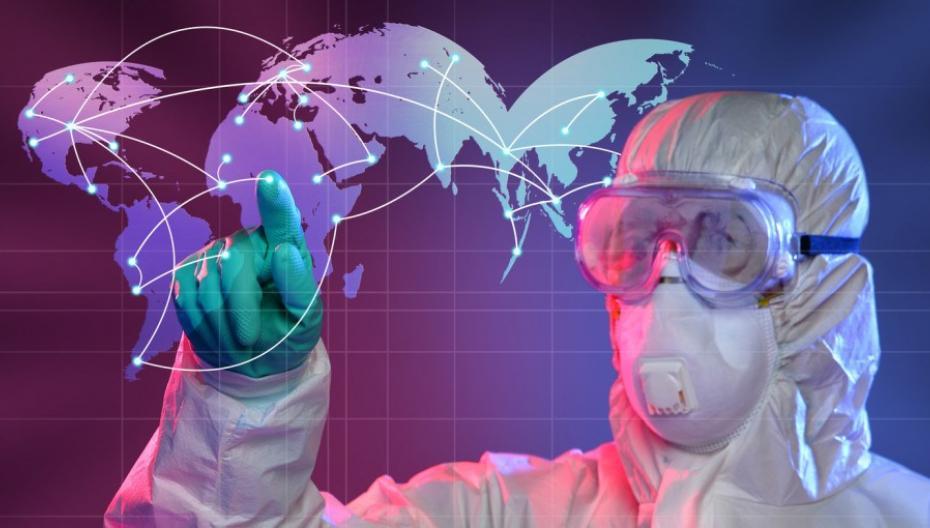 Портативное устройство для определения типа инфекции