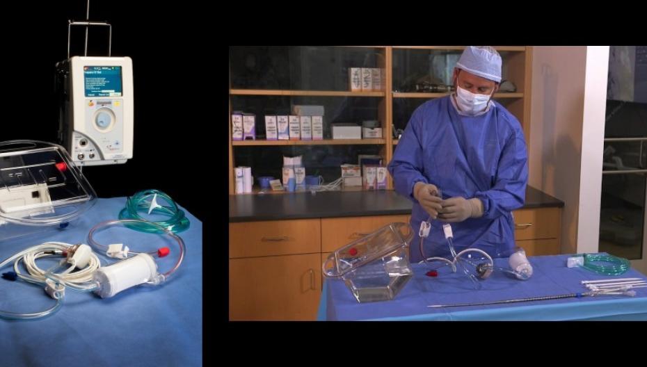 Портативная система для экстракорпоральной поддержки жизни пациентов