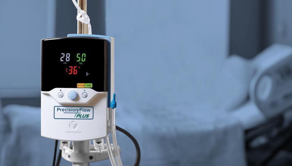 Высокоточная безмасочная вентиляционная система от Vapotherm