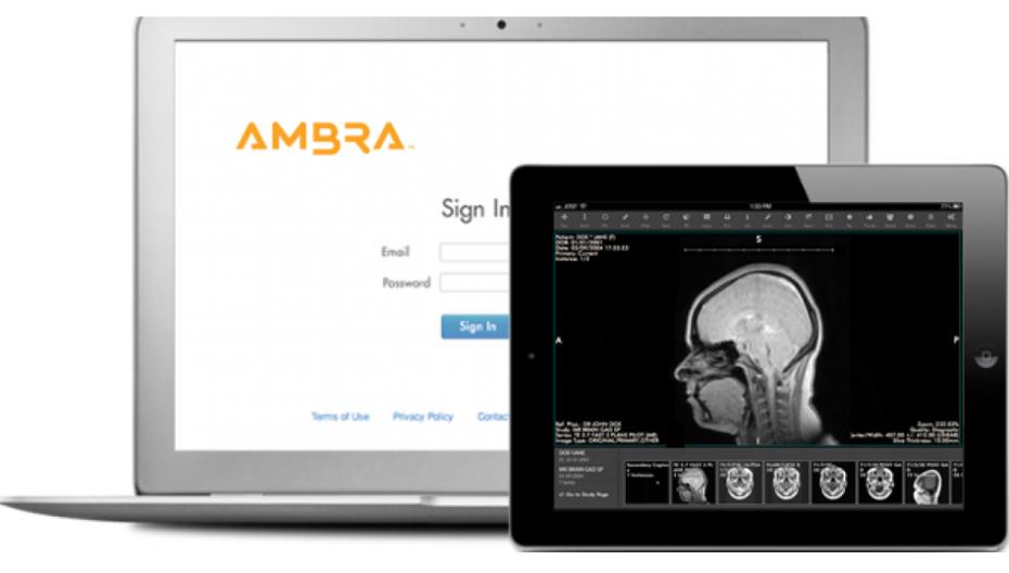 Приложение обеспечивает постоянный доступ к медицинским изображениям