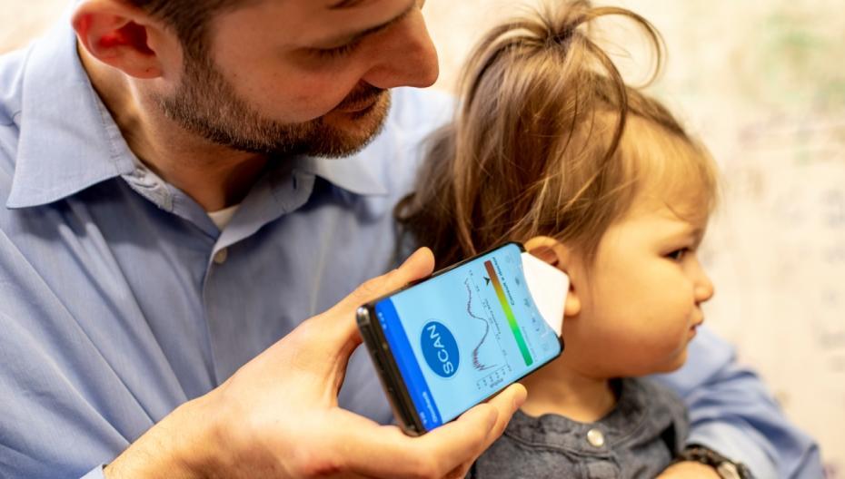 Приложение, которое может «услышать» ушные инфекции