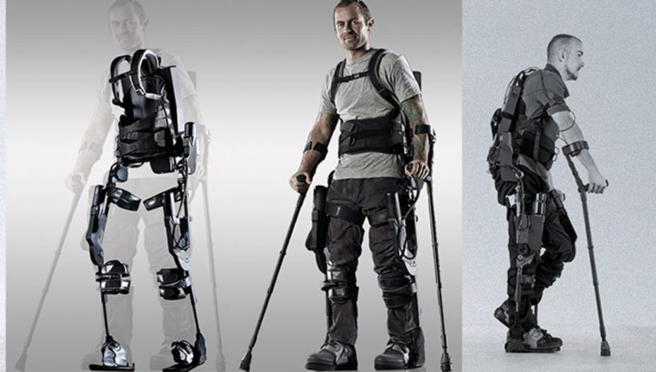 Реабилитационный экзокостюм EksoNR компании Ekso Bionics