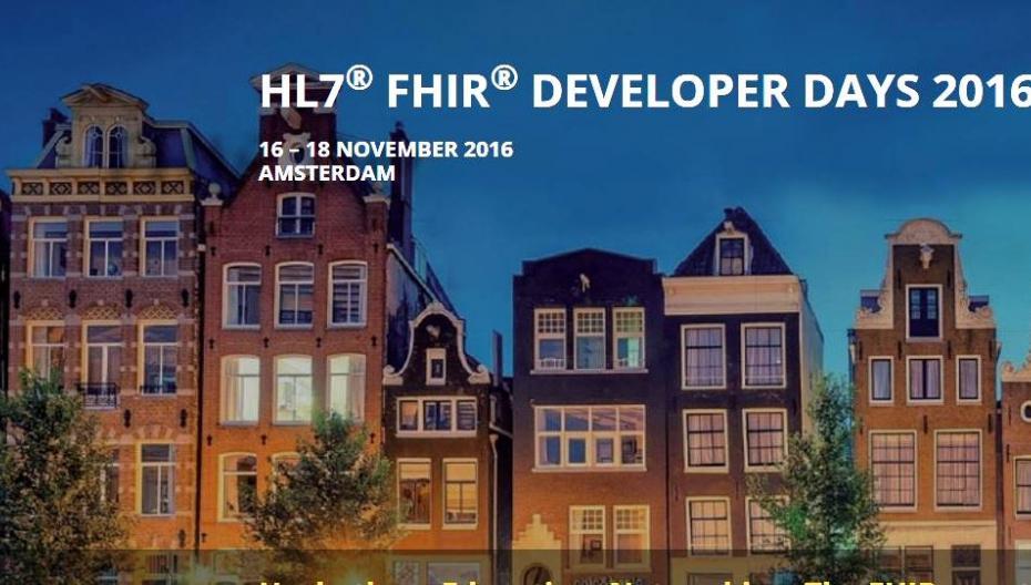 В Амстердаме состоится FHIR Developer Days 2016