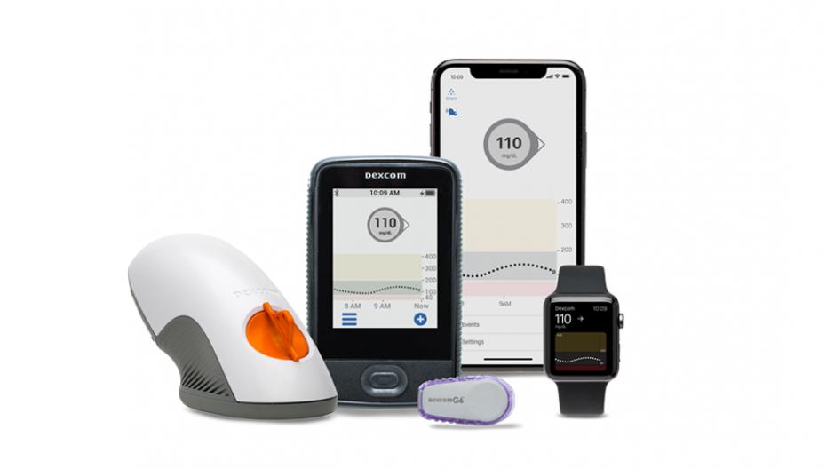Система непрерывного мониторинга уровня сахара в крови Dexcom G6 получила разрешение FDA