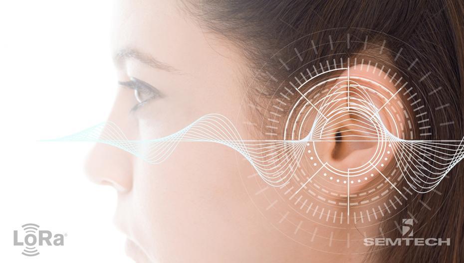 Слуховой аппарат с IoT-коммуникациями от Semtech и Sonova