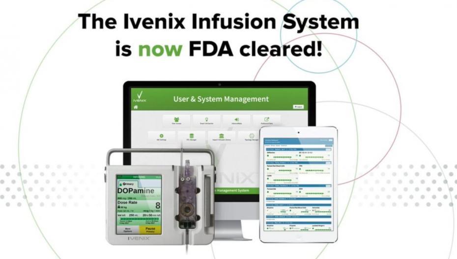 Ivenix: инфузионная система, снижающая возможность ошибок