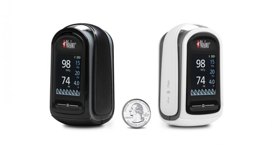 Пульсоксиметр с функцией измерения частоты дыхания от Masimo