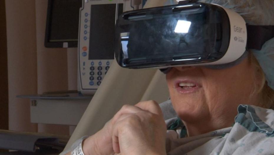 Виртуальная реальность усмиряет боль