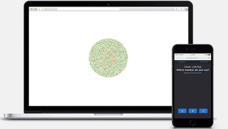 Дистанционная проверка зрения white-label от Opternative