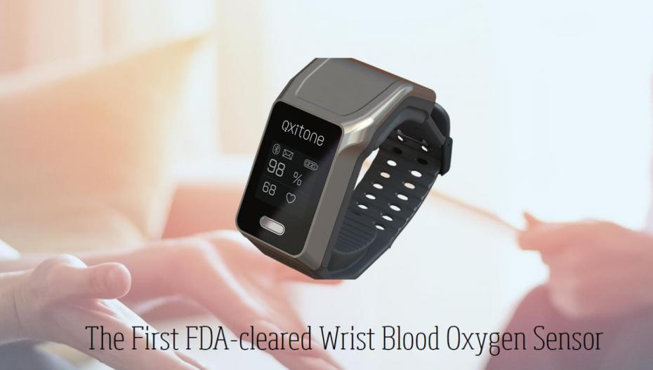 Oxitone 1000: носимый монитор здоровья клинического уровня