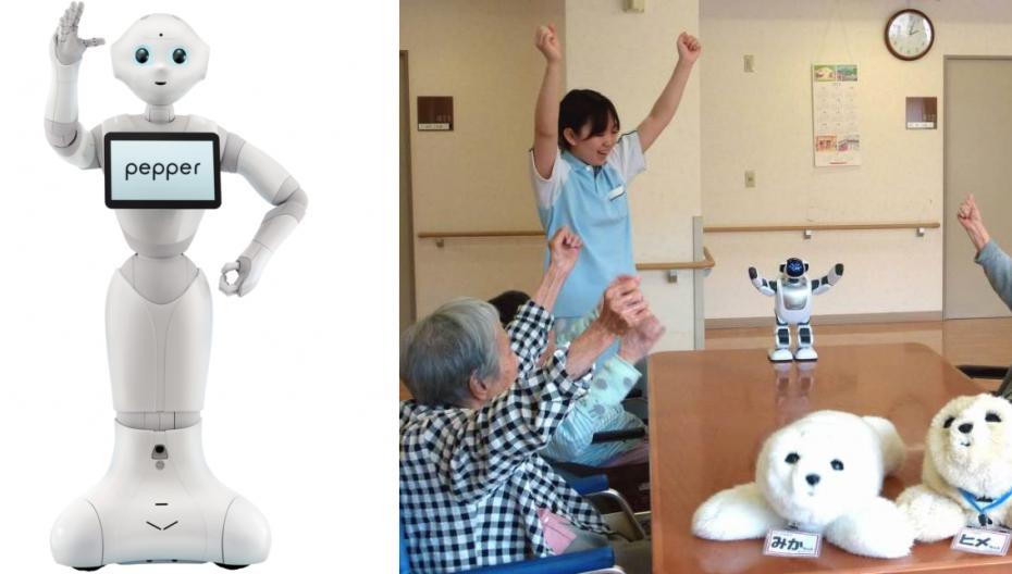 Виртуальная реальность и роботы для японских стариков