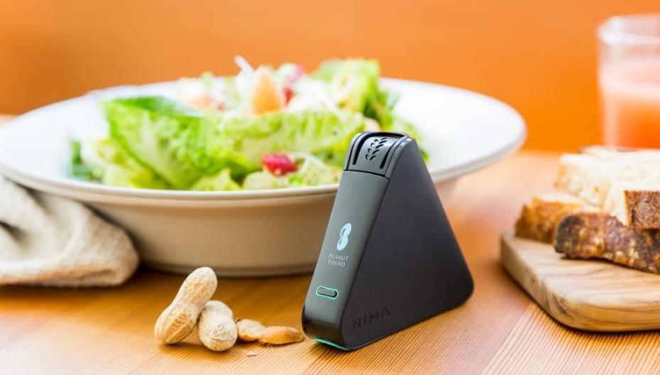 Карманный сенсор для контроля пищи для аллергиков