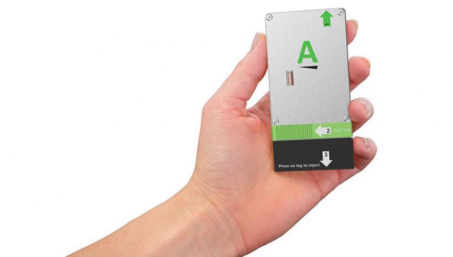 Устройство размером с банковскую карту спасет аллергику жизнь