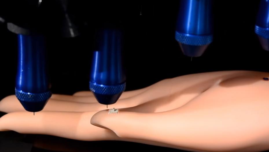 3D-принтер может печатать электронику для контроля здоровья прямо на коже пользователя