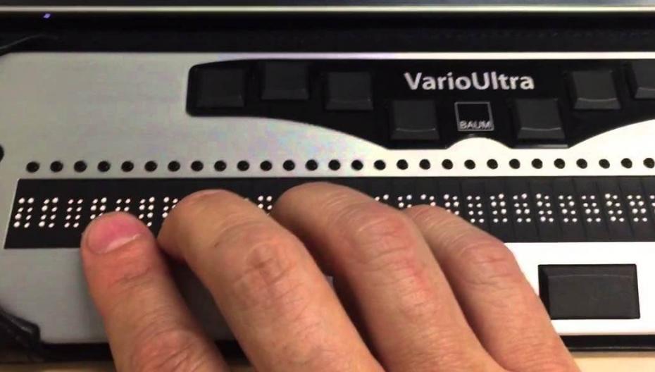 Новый стандарт USB для дисплеев Брайля