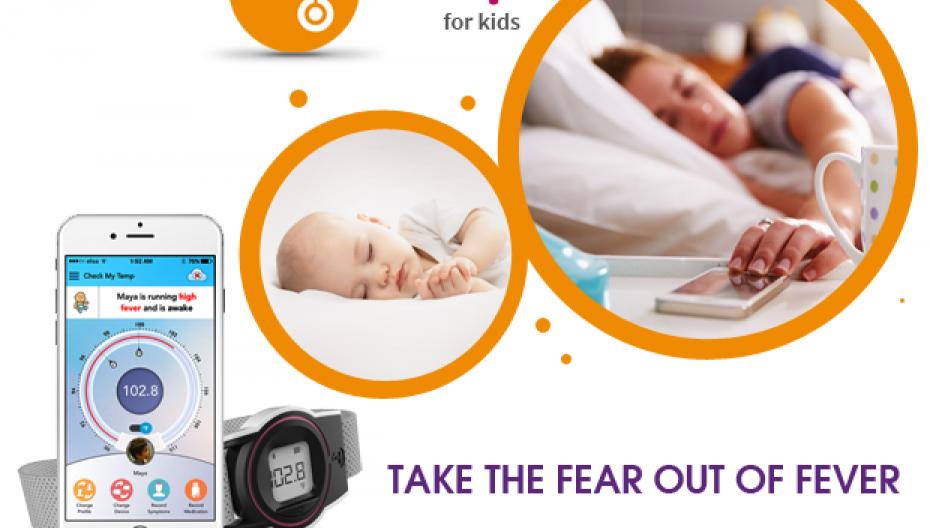 Check-my-Temp: Носимый термометр для детей и стариков