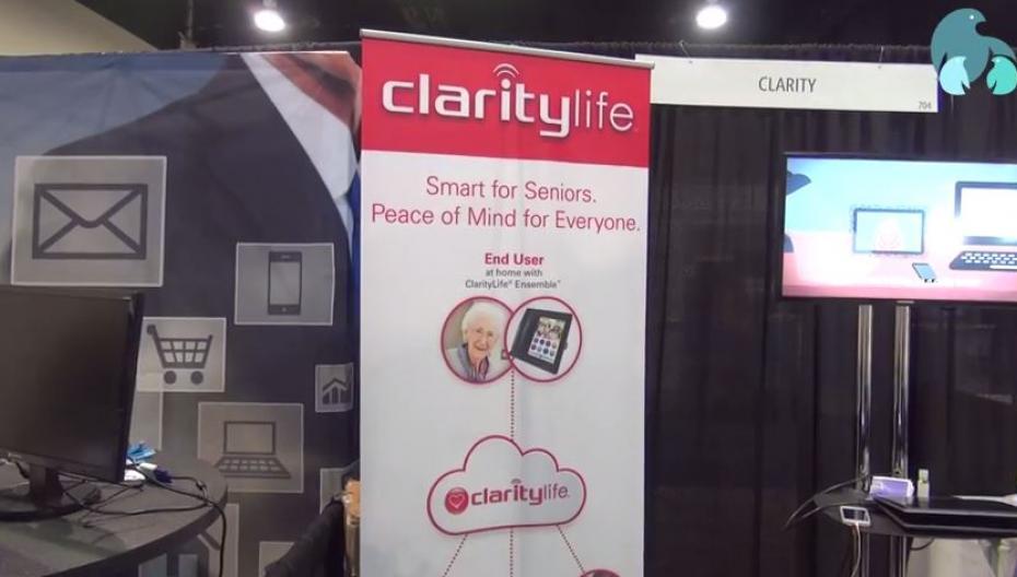 Evercare на mHealth Summit. Часть 7. ClarityLife - современное средство связи для пожилых людей