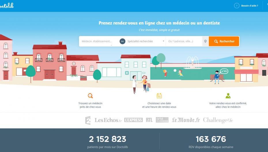 Французский сервис онлайн-записи к врачам начинает поход в Европу