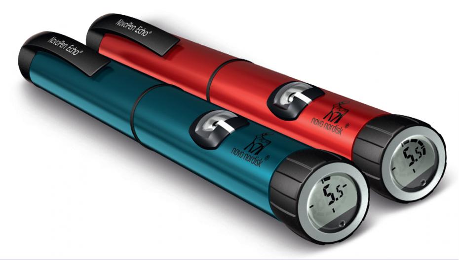 Novo Nordisk выпустила две модели цифровых инсулиновых ручек