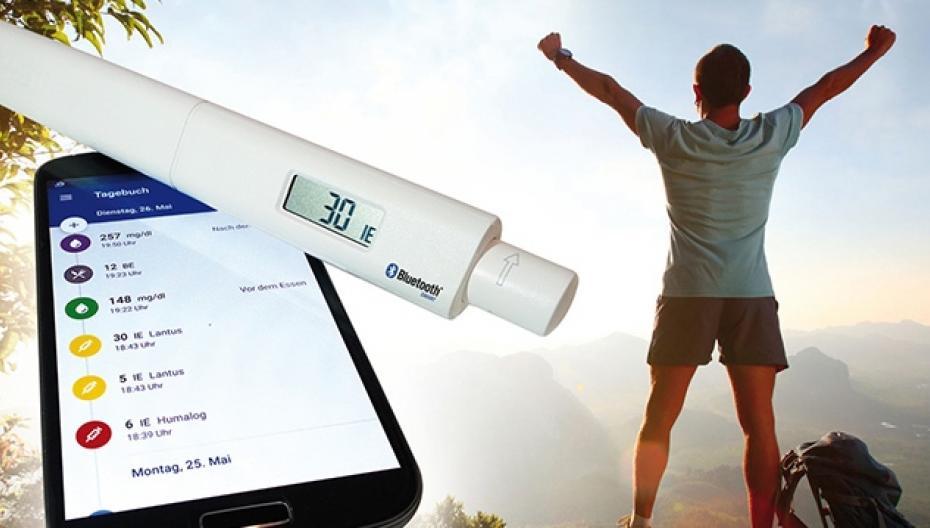 Инсулиновая ручка с Bluetooth-связью