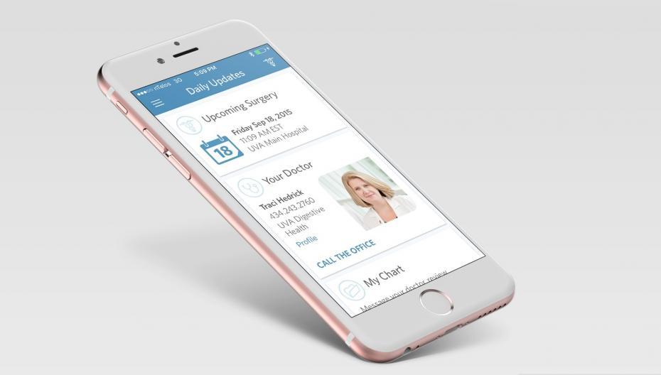 Приложение, которое помогает пациентам хирургического отделения