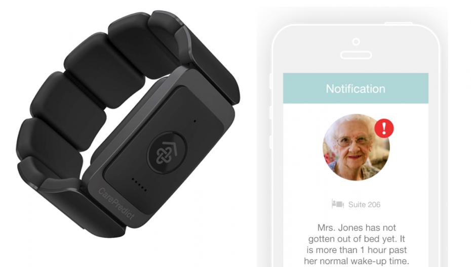 Носимое AI-устройство для мониторинга здоровья пожилых людей