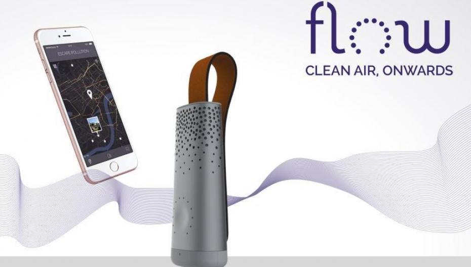 CES 2017: Умный трекер качества воздуха от Plume Labs