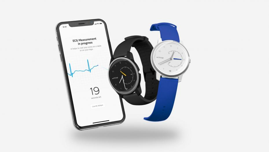 Электрокардиограф на запястье от Withings
