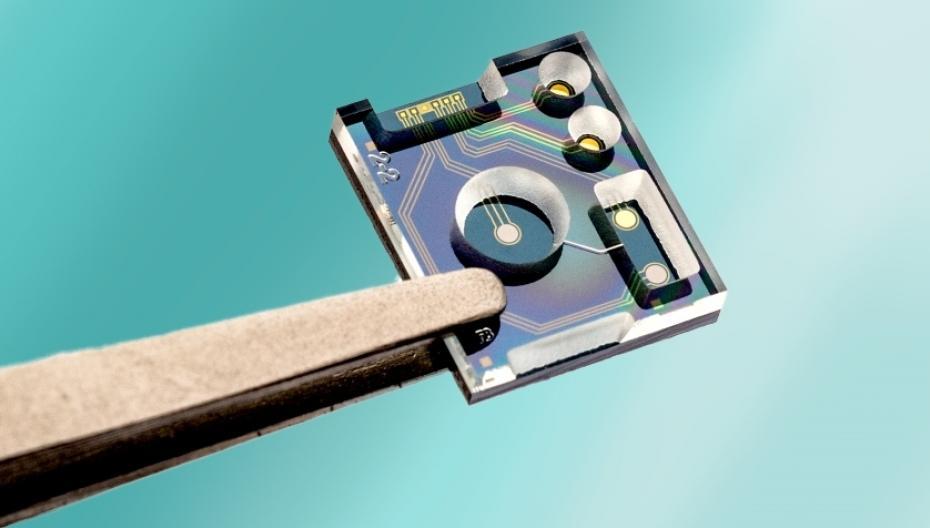 Миниатюрный сенсор для измерения pH и уровня хлорида