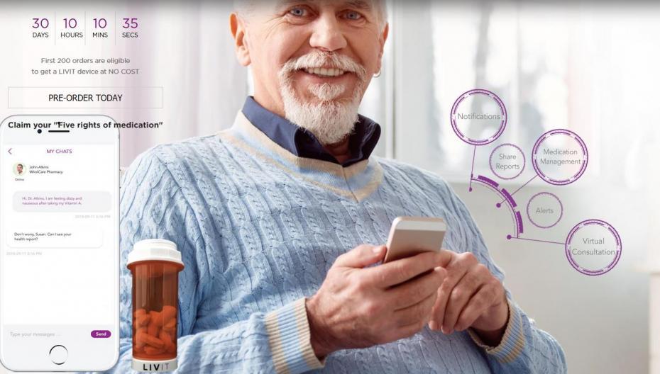 LIVIT проследит, как вы придерживаетесь плана приема лекарств