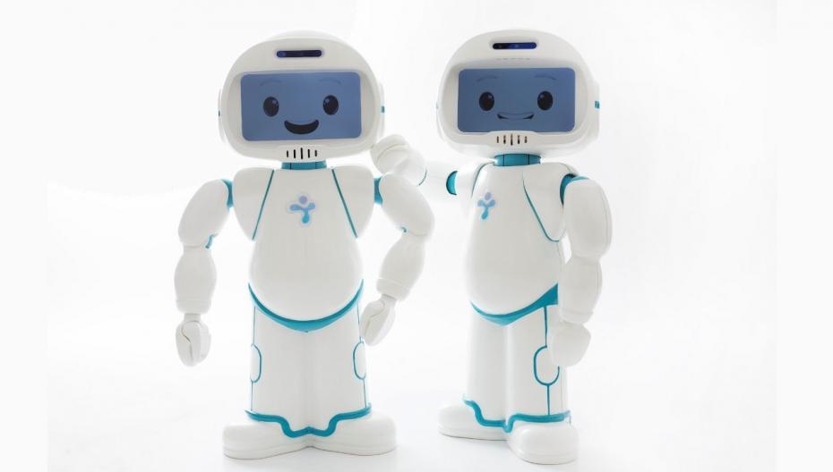 Робот, который помогает учить детей с аутизмом
