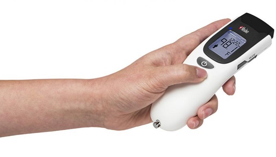 TIR-1: Бесконтактный и беспроводной термометр