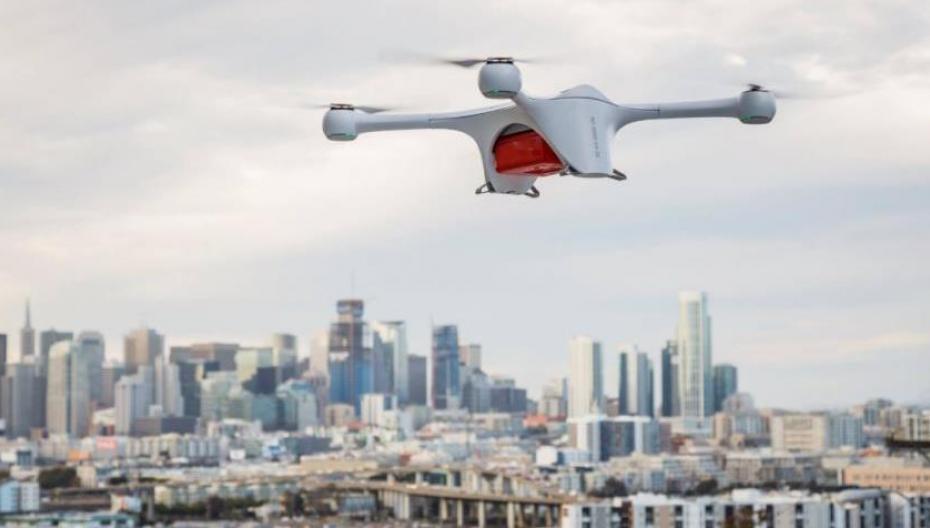 Автономный дрон для доставки образцов для анализов
