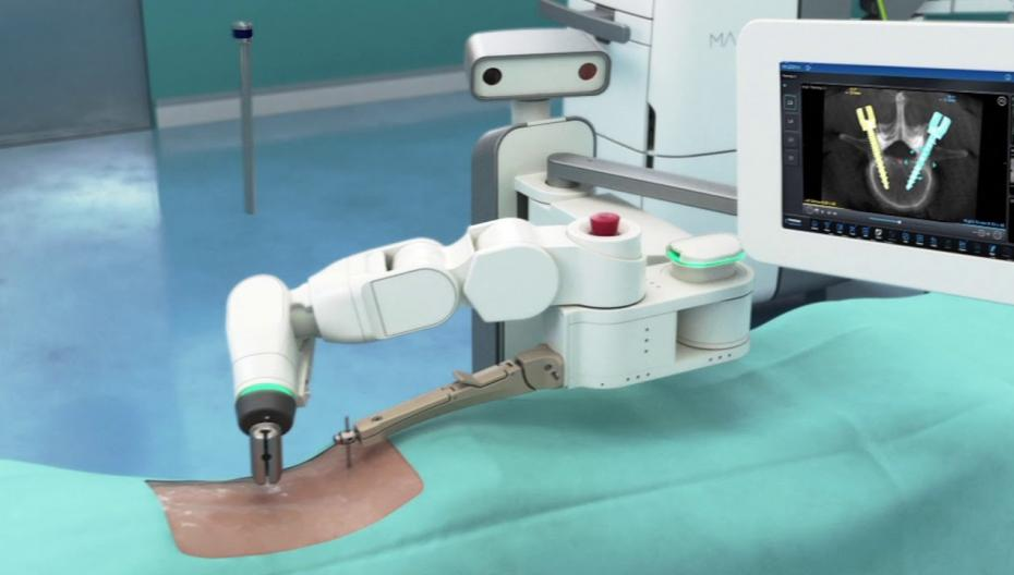 Medtronic выпустила робота для спинальной хирургии