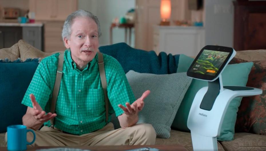 Домашний робот для одиноких пожилых людей