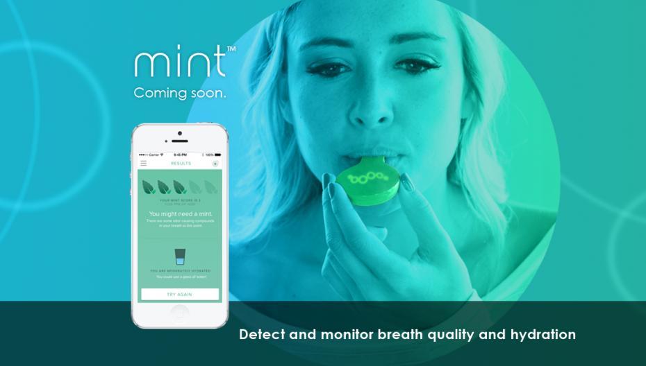 Mint: устройство, которое контролирует гигиену рта и гидратацию