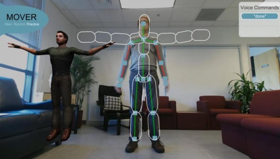 Виртуальный тренер для больных с травмой головы