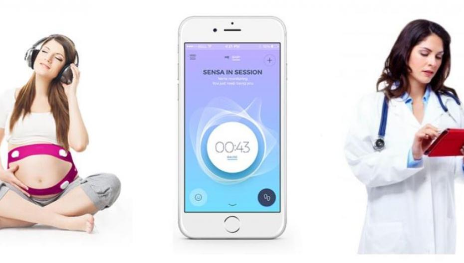 Акустические сенсоры для контроля развития плода при беременности