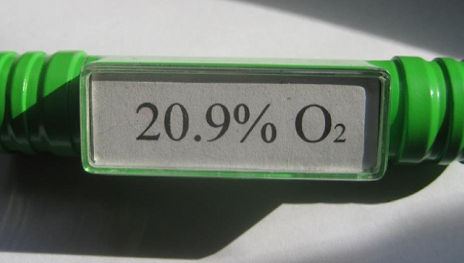 Одноразовый сенсор контроля уровня кислорода для респираторного мониторинга