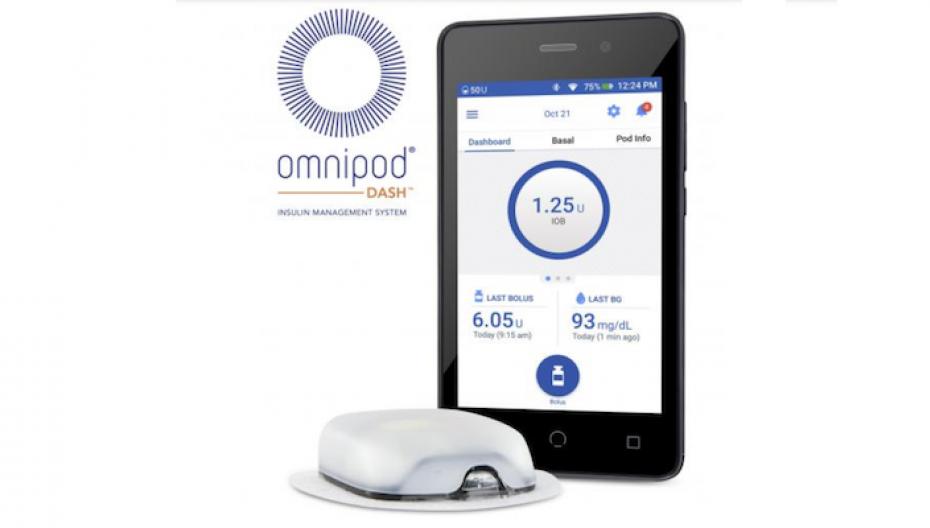 Инсулиновая система Omnipod Dash скоро появится в продаже