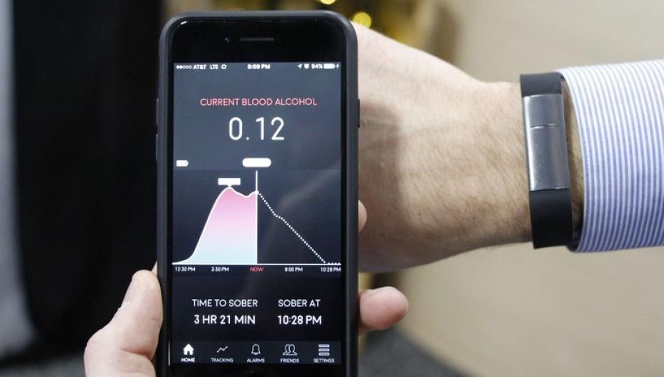 CES 2017: Это устройство подскажет, насколько вы пьяны