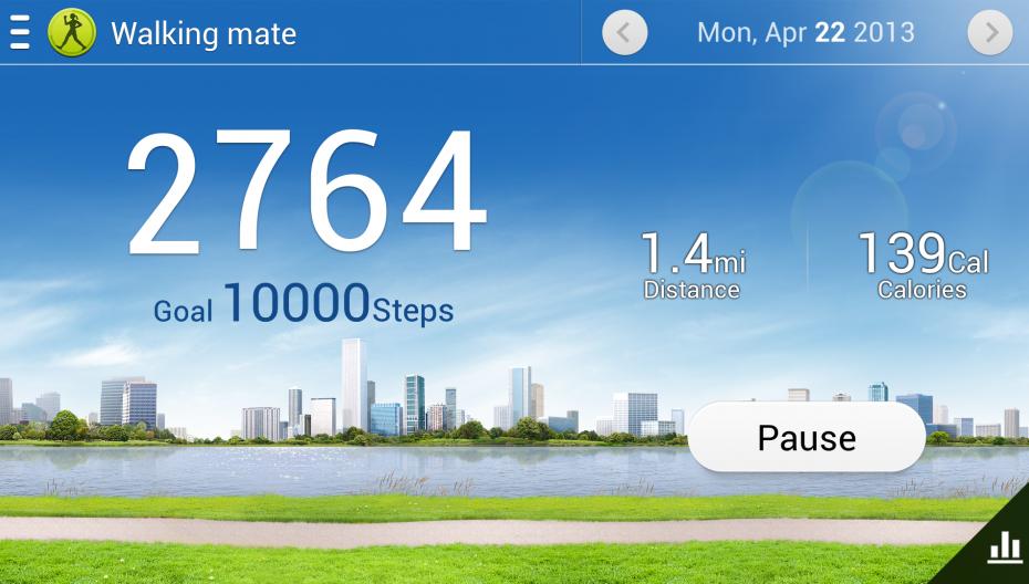 S Health теперь на всех смартфонах Samsung