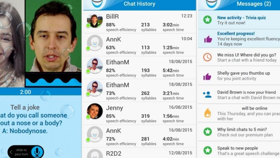 NiNiSpeech: приложение, которое лечит заикание