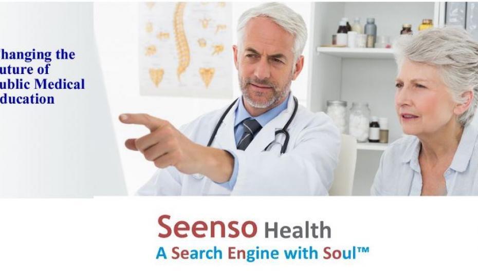 Seenso Health - новая система для поиска медицинской информации