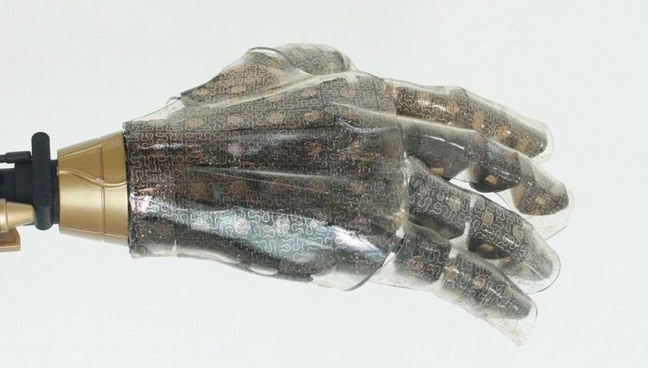Сенсор, который лечит электронную кожу