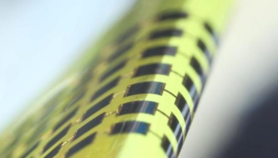 Сверхтонкие солнечные батареи для носимых устройств